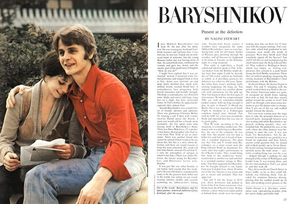 Article Preview: BARYSHNIKOV, January 1975 | Maclean's