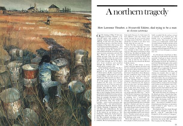 Article Preview: A northern tragedy, January 1975 | Maclean's