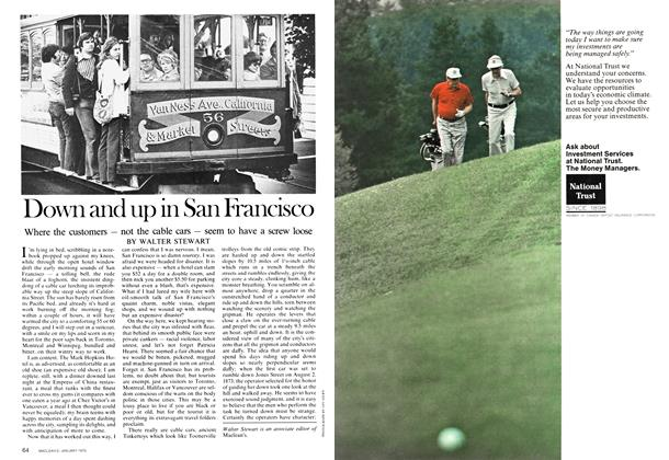 Article Preview: Down and up in San Francisco, January 1975 | Maclean's