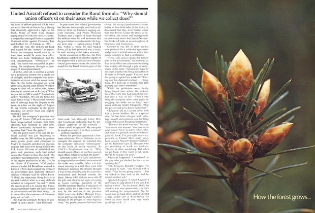 Article Preview: How the forest grows..., February 1975 | Maclean's