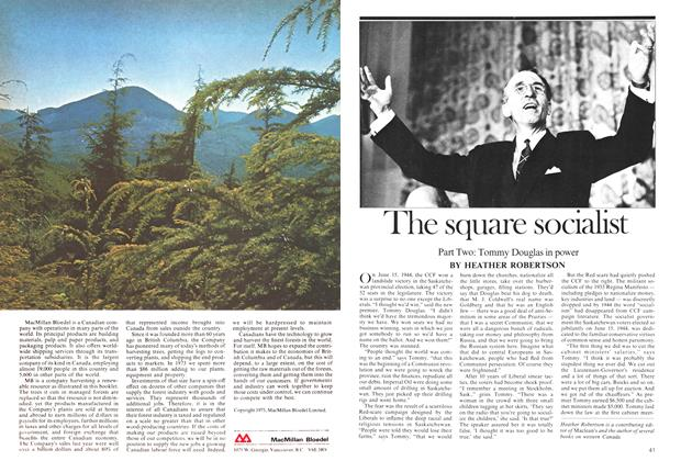 Article Preview: The square socialist, February 1975 | Maclean's