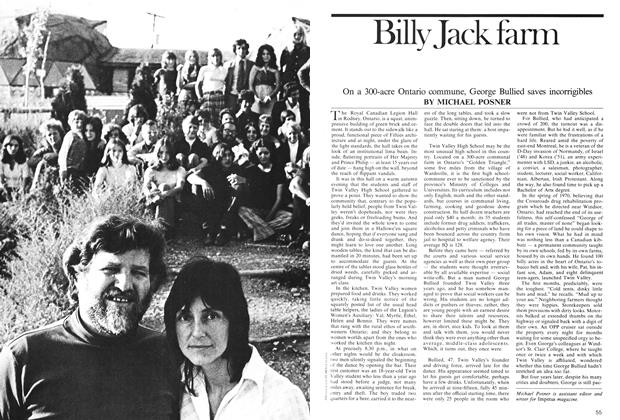 Article Preview: Billy Jack farm, February 1975 | Maclean's