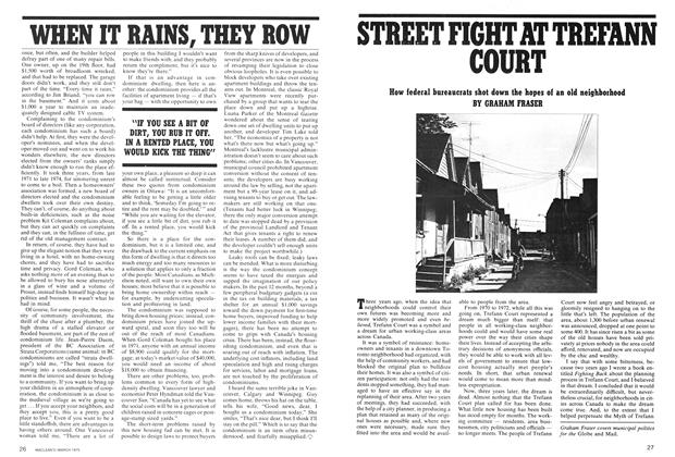 Article Preview: STREET FIGHT AT TREFANN COURT, March 1975 | Maclean's
