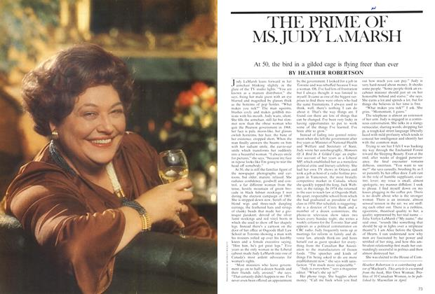 Article Preview: THE PRIME OF MS. JUDY LAMARSH, March 1975 | Maclean's