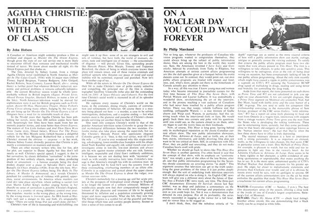 Article Preview: AGATHA CHRISTIE: MURDER WITH A TOUCH OF CLASS, March 1975 | Maclean's