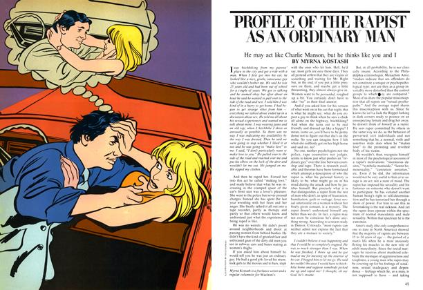 Article Preview: PROFILE OF THE RAPIST AS AN ORDINARY MAN, April 1975 | Maclean's