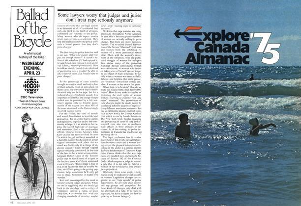 Article Preview: Explore'75 Canada Almanac, April 1975 | Maclean's