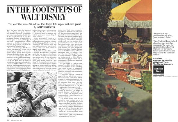 Article Preview: IN THE FOOTSTEPS OF WALT DISNEY, April 1975 | Maclean's