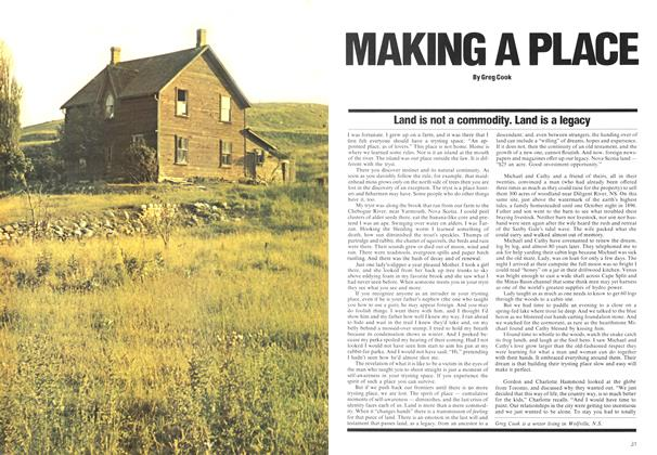 Article Preview: Land is not a commodity. Land is a legacy, May 1975 | Maclean's