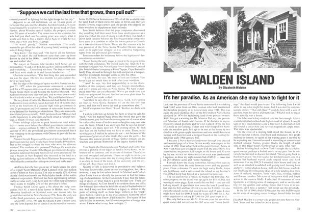 Article Preview: WALDEN ISLAND, May 1975 | Maclean's