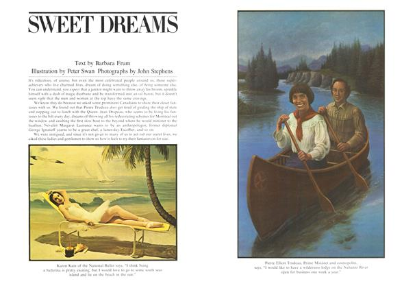 Article Preview: SWEET DREAMS, May 1975 | Maclean's