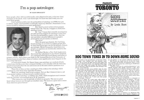 Article Preview: I'm a pop astrologer., May 1975 | Maclean's