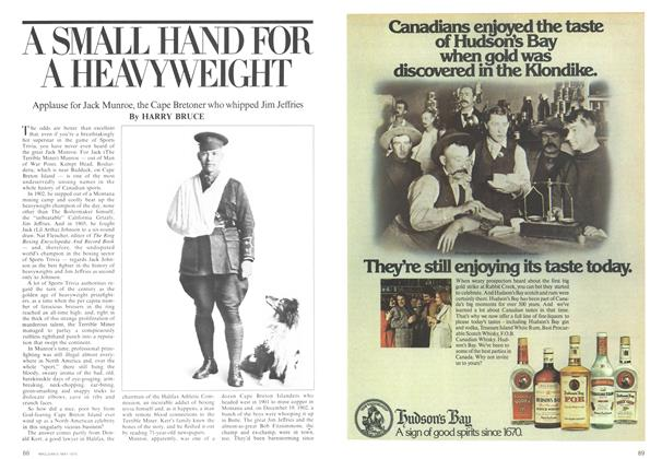 Article Preview: A SMALL HAND FOR A HEAVYWEIGHT, May 1975 | Maclean's