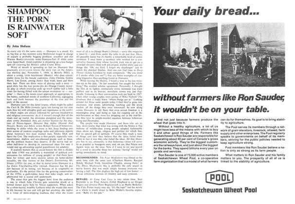 Article Preview: SHAMPOO: THE PORN IS RAINWATER SOFT, May 1975 | Maclean's