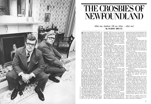 Article Preview: THE CROSBIES OF NEWFOUNDLAND, June 1975 | Maclean's