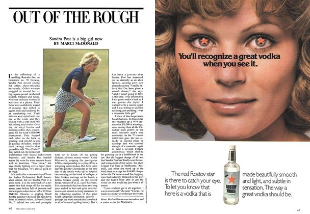 Article Preview: OUT OF THE ROUGH, June 1975 | Maclean's