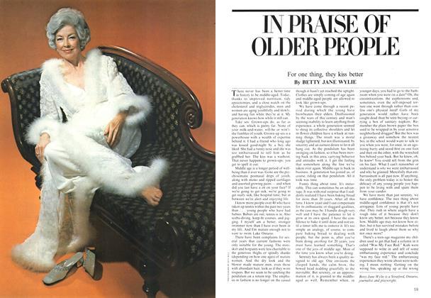 Article Preview: IN PRAISE OF OLDER PEOPLE, June 1975 | Maclean's