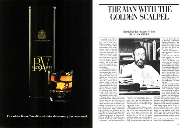 Article Preview: THE MAN WITH THE GOLDEN SCALPEL, June 1975 | Maclean's