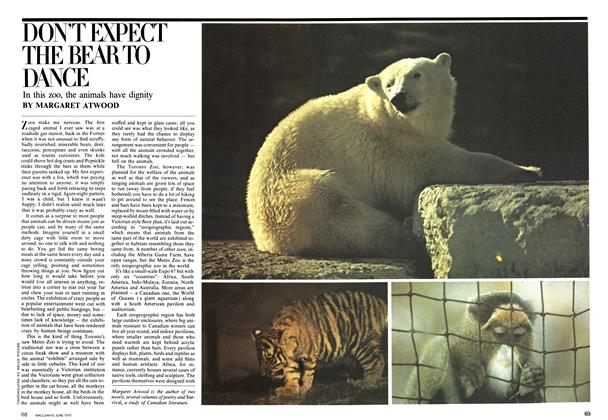 Article Preview: DONT EXPECT THE BEAR TO DANCE, June 1975 | Maclean's