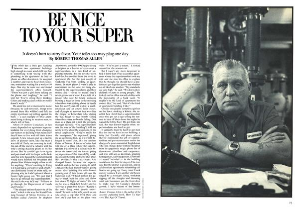 Article Preview: BE NICE TO YOUR SUPER, June 1975 | Maclean's