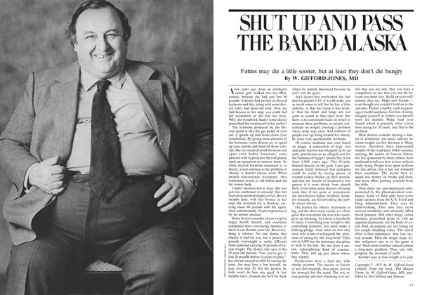 Article Preview: SHUT UP AND PASS THE BAKED ALASKA, June 1975 | Maclean's