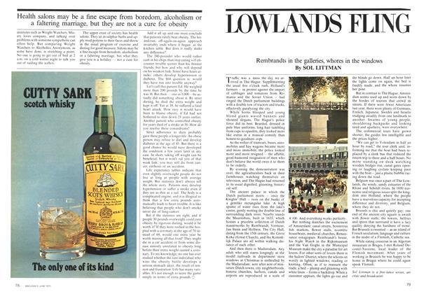 Article Preview: LOWLANDS FLING, June 1975 | Maclean's