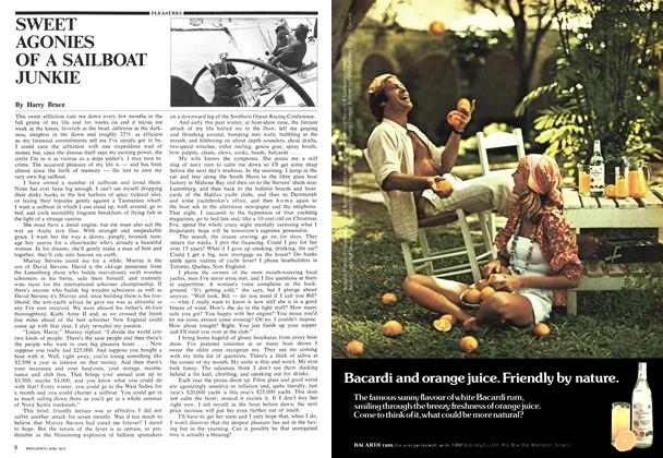 Article Preview: SWEET AGONIES OF A SAILBOAT JUNKIE, June 1975 | Maclean's