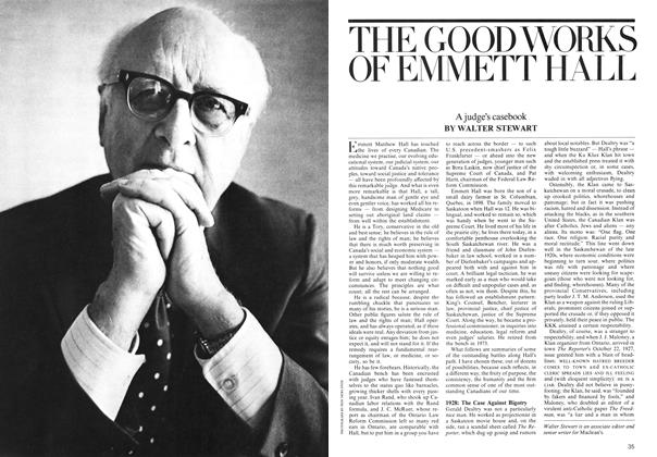 Article Preview: THE GOOD WORKS OF EMMETT HALL, July 1975 | Maclean's