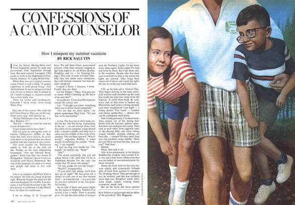 Article Preview: CONFESSIONS OF A CAMP COUNSELOR, July 1975 | Maclean's