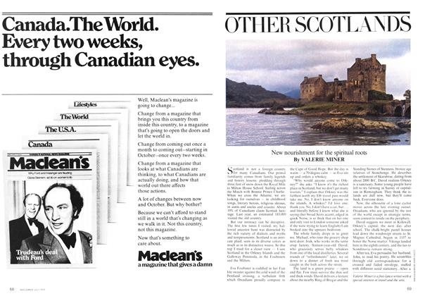 Article Preview: OTHER SCOTLANDS, July 1975 | Maclean's
