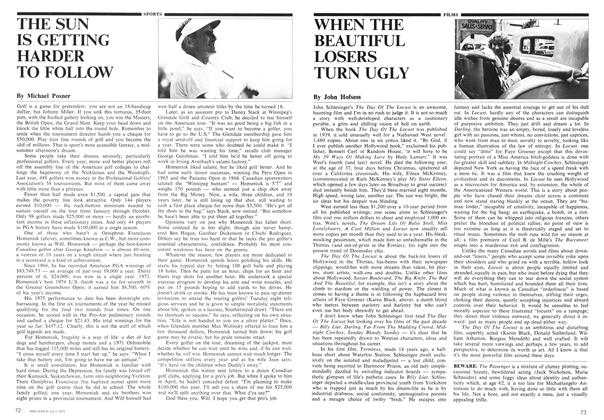 Article Preview: WHEN THE BEAUTIFUL LOSERS TURN UGLY, July 1975 | Maclean's