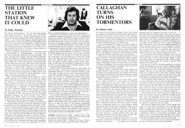 Article Preview: CALLAGHAN TURNS ON HIS TORMENTORS, July 1975 | Maclean's