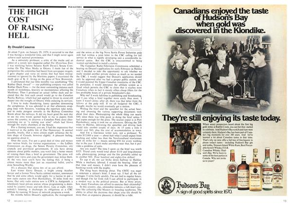 Article Preview: THE HIGH COST OF RAISING HELL, July 1975 | Maclean's
