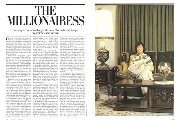 Article Preview: THE MILLIONAIRESS, August 1975 | Maclean's