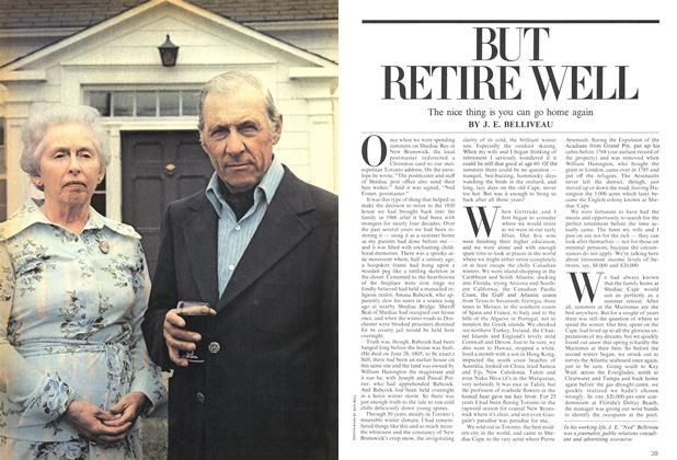 Article Preview: BUT RETIRE WELL, August 1975 | Maclean's