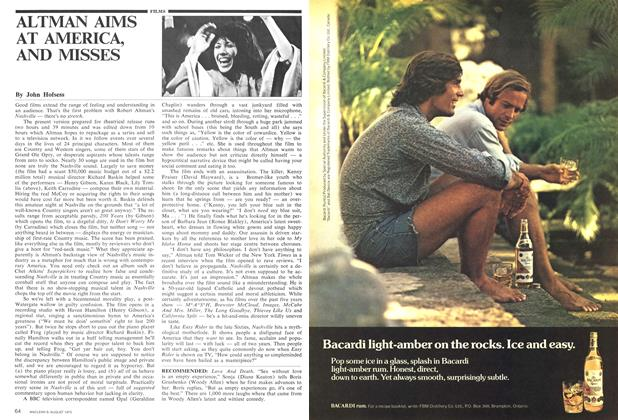 Article Preview: ALTMAN AIMS AT AMERICA, AND MISSES, August 1975 | Maclean's