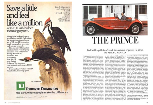 Article Preview: THE PRINCE, September 1975 | Maclean's