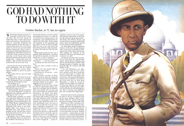 Article Preview: GOD HAD NOTHING TO DO WITH IT, September 1975 | Maclean's