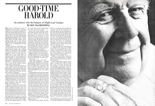 Article Preview: GOOD-TIME HAROLD, September 1975 | Maclean's