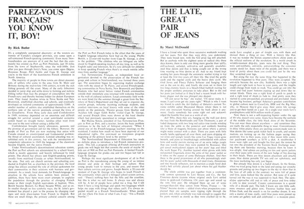 Article Preview: THE LATE, GREAT PAIR OF JEANS, September 1975 | Maclean's