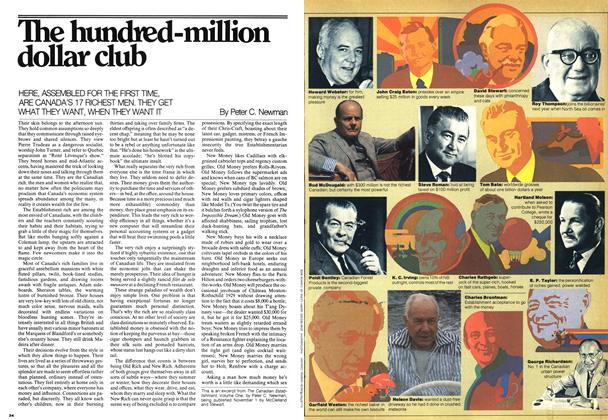 Article Preview: The hundred-million dollar club, October 1975 | Maclean's