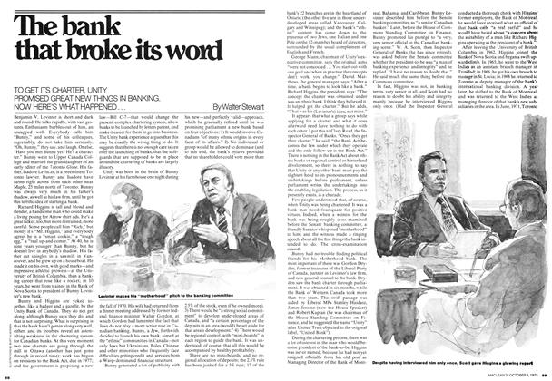 Article Preview: The bank that broke its word, October 1975 | Maclean's