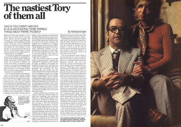 Article Preview: The nastiest Tory of them all, October 1975 | Maclean's