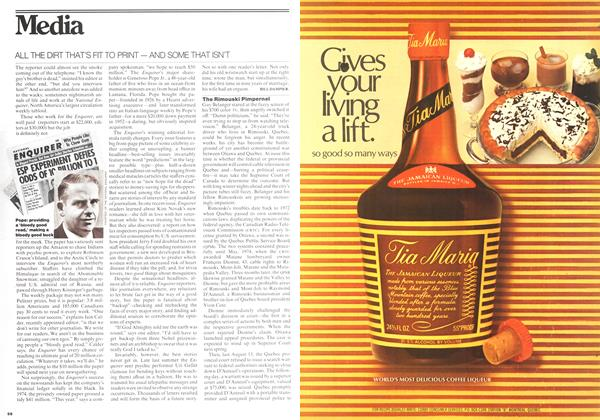 Article Preview: Media, October 1975 | Maclean's