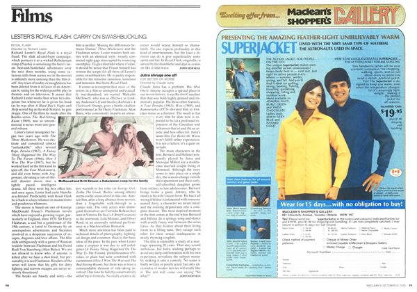 Article Preview: Films, October 1975 | Maclean's