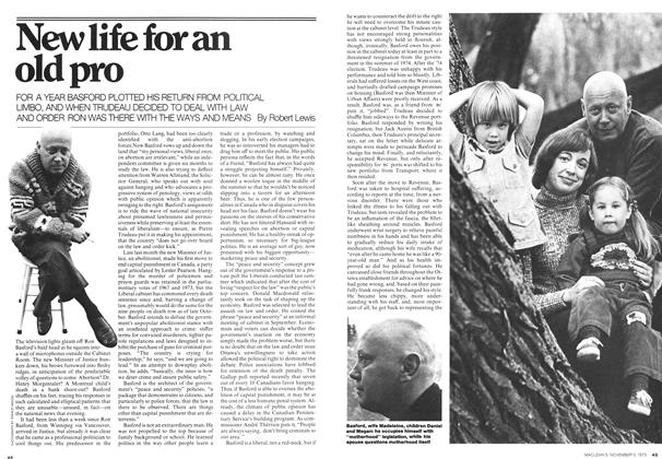 Article Preview: New life for an old pro, November 1975 | Maclean's