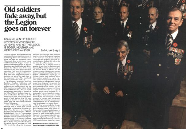 Article Preview: Old soldiers fade away, but the Legion goes on forever, November 1975 | Maclean's