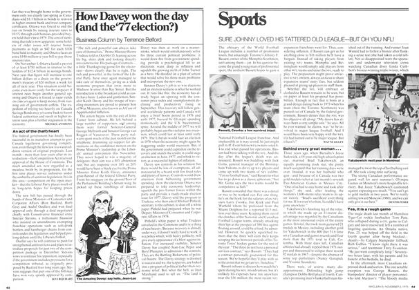 Article Preview: Sports, November 1975 | Maclean's