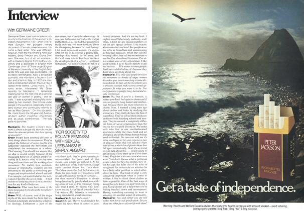 Article Preview: Interview, November 1975 | Maclean's