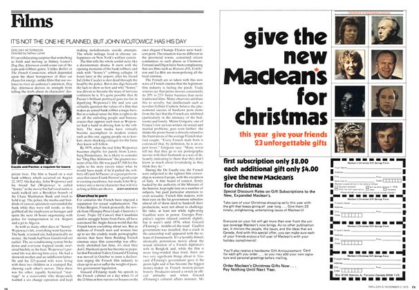 Article Preview: Films, November 1975 | Maclean's